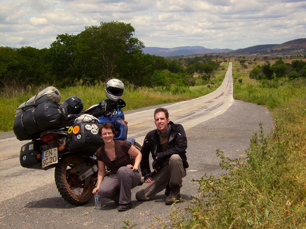 Brasil de moto