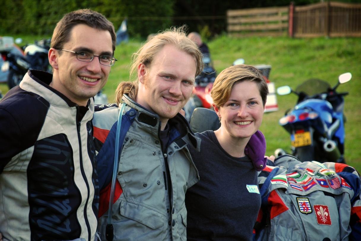 Ralf, Harold und Jana