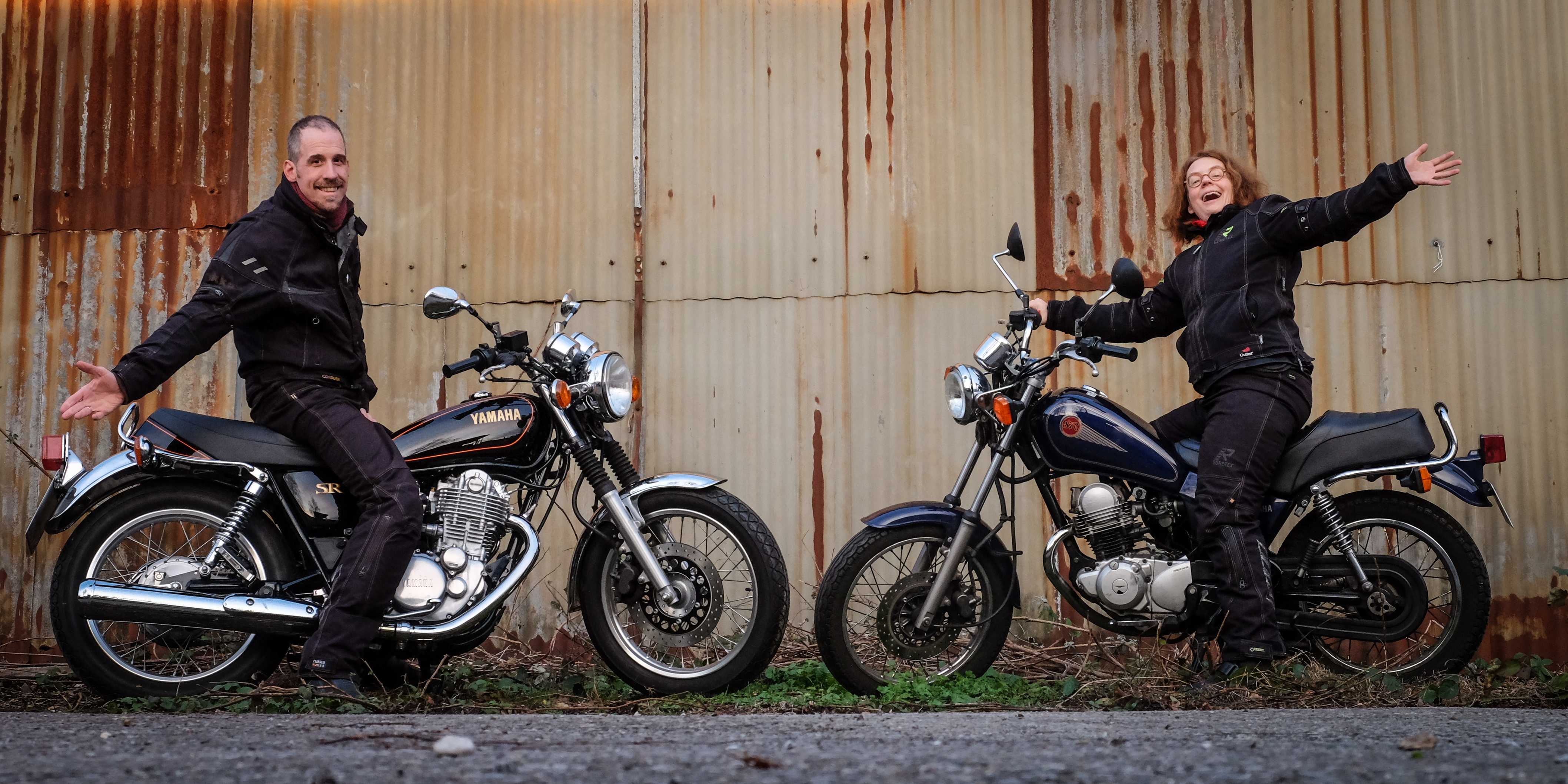 Yamaha SR 400 und SR 125