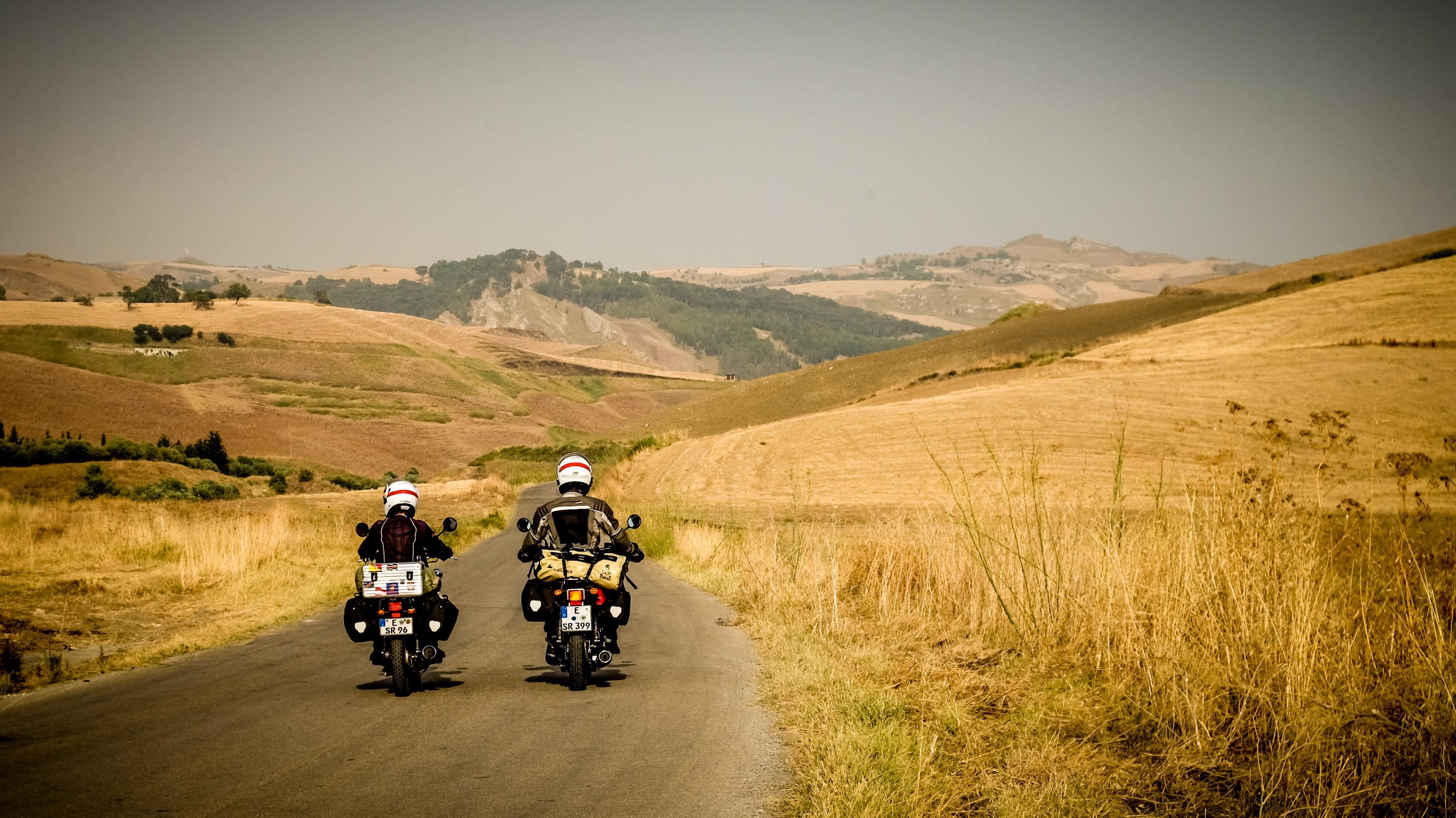 Motorradreise Sizilien