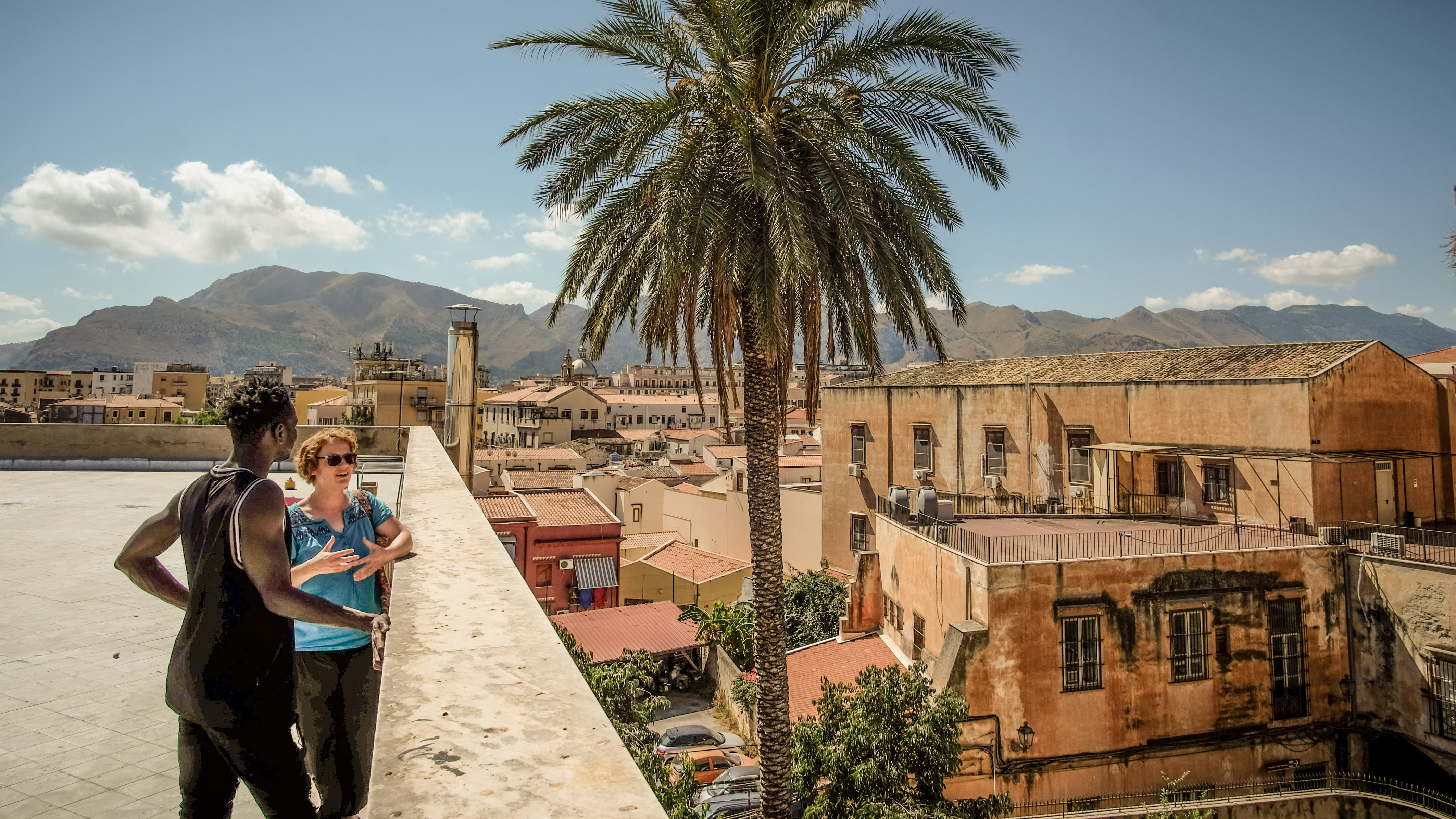Malick in Palermo